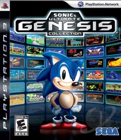 Sonic's Ultimate Genesis Collection PS3 Cover Art