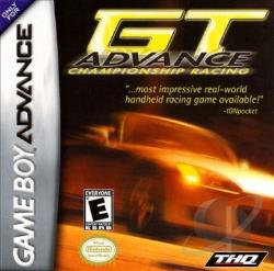 GT Advance Championship Racing GBA Cover Art