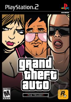 Grand Theft Auto: The Trilogy PS2 Cover Art