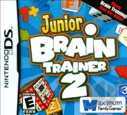 Junior Brain Trainer 2 NDS Cover Art