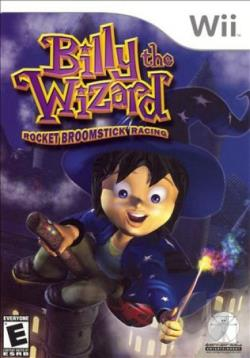 Billy the Wizard: Rocket Broomstick Racing WII Cover Art