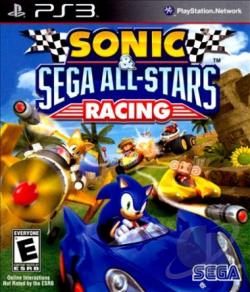 Sonic & Sega All-Stars Racing PS3 Cover Art