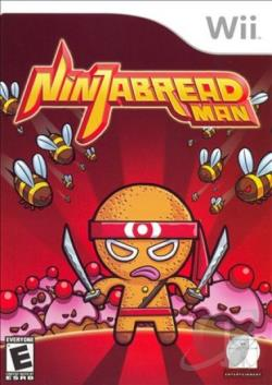 Ninjabread Man WII Cover Art