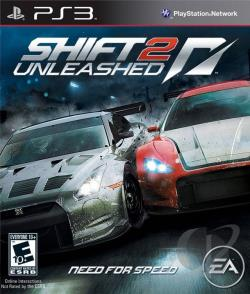 Shift 2 Unleashed PS3 Cover Art