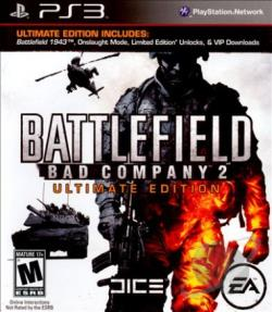 Battlefield: Bad Company 2 PS3 Cover Art