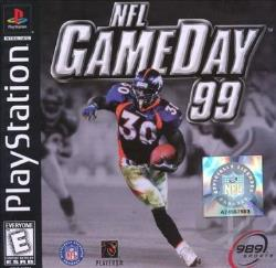 NFL Gameday 99 PS Cover Art