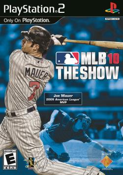 MLB 10: The Show PS2 Cover Art