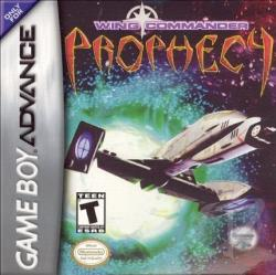 Wing Commander: Prophecy GBA Cover Art