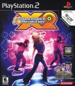 Dance Dance Revolution X2 PS2 Cover Art