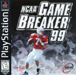 NCAA Gamebreaker '99 PS Cover Art