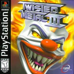 Twisted Metal 3 PS Cover Art