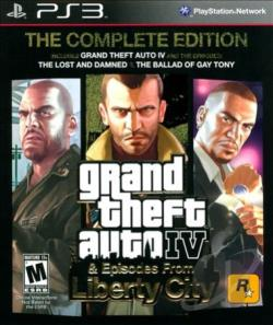 Grand Theft Auto IV: The Complete Edition PS3 Cover Art