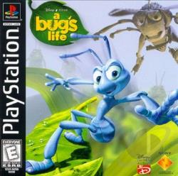 Bug's Life PS Cover Art