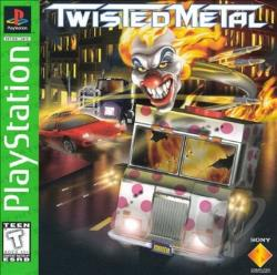 Twisted Metal PS Cover Art