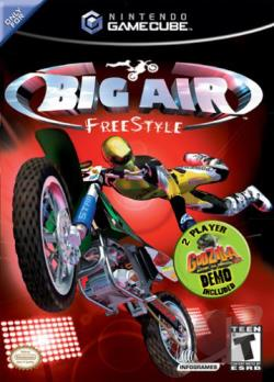 Big Air Freestyle GQ Cover Art