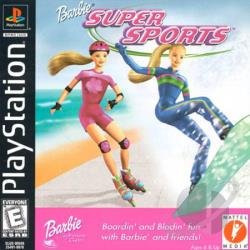Barbie Super Sports PS Cover Art