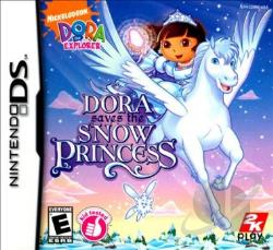 Dora the Explorer: Dora Saves the Snow Princess NDS Cover Art