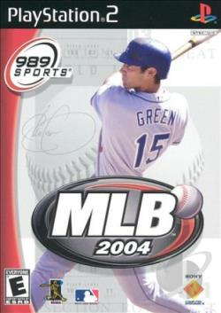MLB 2004 PS2 Cover Art