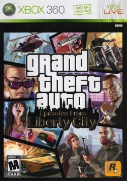 Grand Theft Auto: Episodes From Liberty City XB360 Cover Art