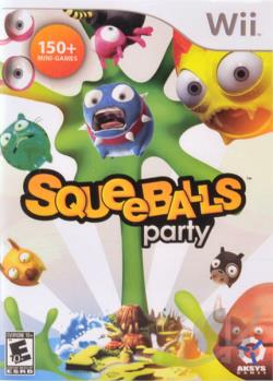 Squeeballs Party WII Cover Art