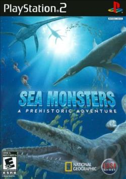 Sea Monsters: A Prehistoric Adventure PS2 Cover Art