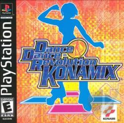 Dance Dance Revolution Konamix PS Cover Art