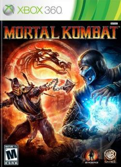 Mortal Kombat XB360 Cover Art