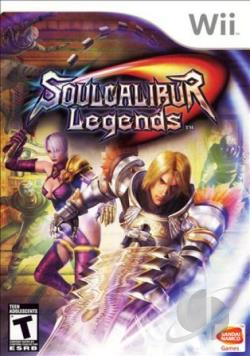 Soul Calibur Legends WII Cover Art