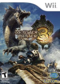 Monster Hunter Tri WII Cover Art
