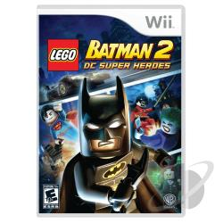LEGO Batman 2: DC Super Heroes WII Cover Art