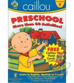 Caillou Preschool PCG Cover Art