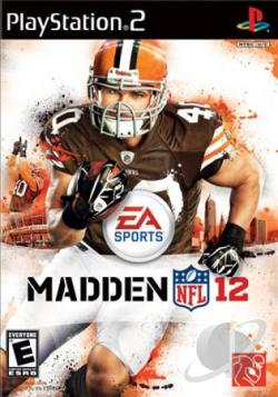 Madden NFL 12 PS2 Cover Art