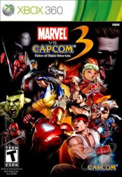 Marvel vs. Capcom 3: Fate of Two Worlds XB360 Cover Art
