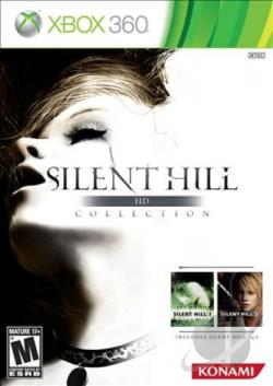 Silent Hill HD Collection XB360 Cover Art
