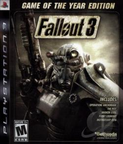 Fallout 3: Game of the Year Edition PS3 Cover Art