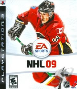 NHL 09 PS3 Cover Art