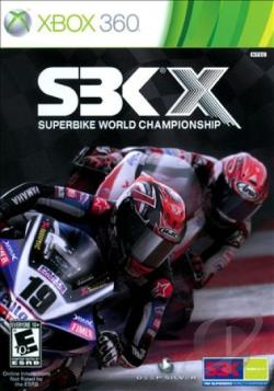 SBK X: Superbike World Championship XB360 Cover Art