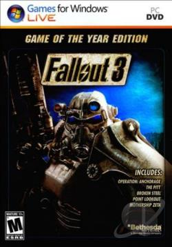 Fallout 3: Game of the Year Edition PCG Cover Art
