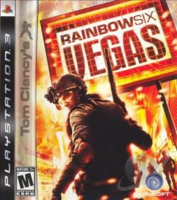 Tom Clancy's Rainbow Six: Vegas PS3 Cover Art