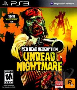 Red Dead Redemption: Undead Nightmare PS3 Cover Art