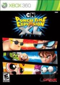 Cartoon Network: Punch Time Explosion XL XB360 Cover Art