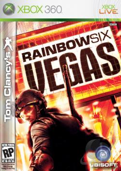 Tom Clancy's Rainbow Six: Vegas XB360 Cover Art