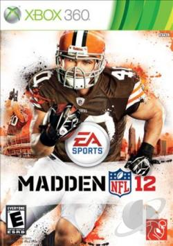 Madden NFL 12 XB360 Cover Art