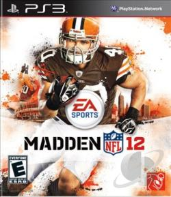 Madden NFL 12 PS3 Cover Art