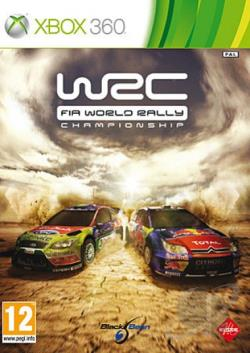 WRC: FIA World Rally Championship XB360 Cover Art
