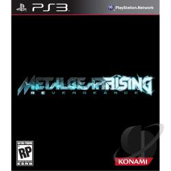 Metal Gear Rising: Revengeance PS3 Cover Art
