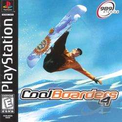 Cool Boarders 4 PS Cover Art