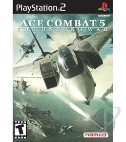 Ace Combat 5: The Unsung War PS2 Cover Art