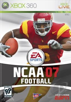 NCAA Football 07 XB360 Cover Art
