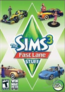 Sims 3: Fast Lane Stuff PCG Cover Art